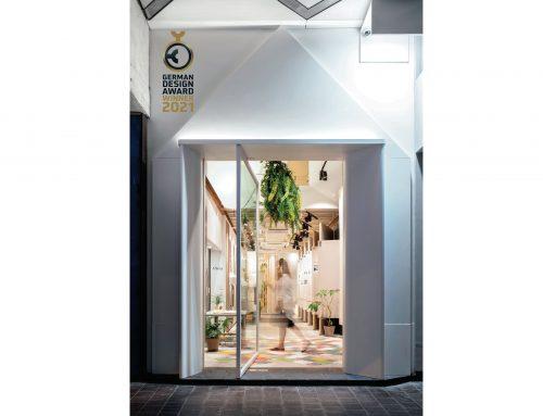 畫廊 X 建築 打造非一般的購物體驗